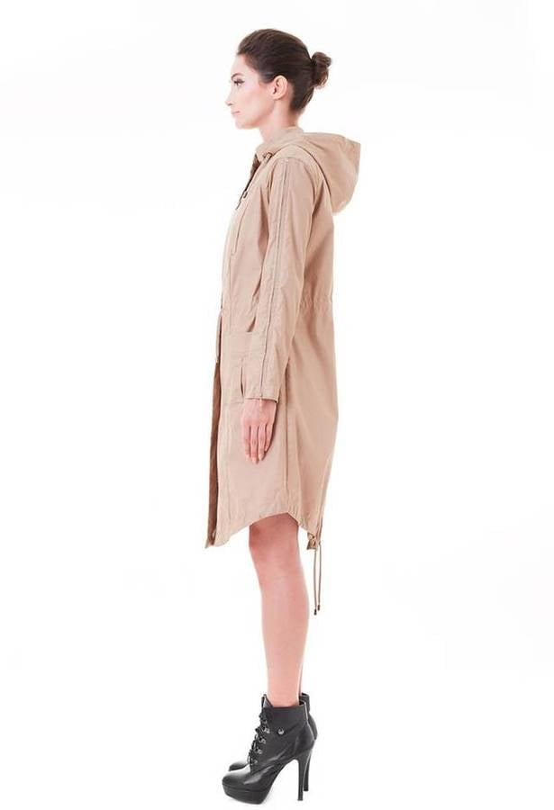 Snowman March Nude Hooded Utility Trench