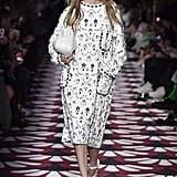Gigi Hadid on the Miu Miu Fall 2020 Runway at Paris Fashion Week