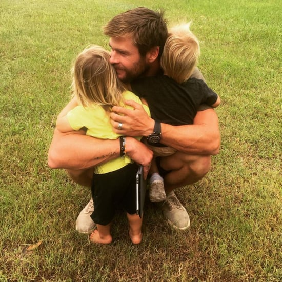 Celebrity Dads and Kids on Instagram