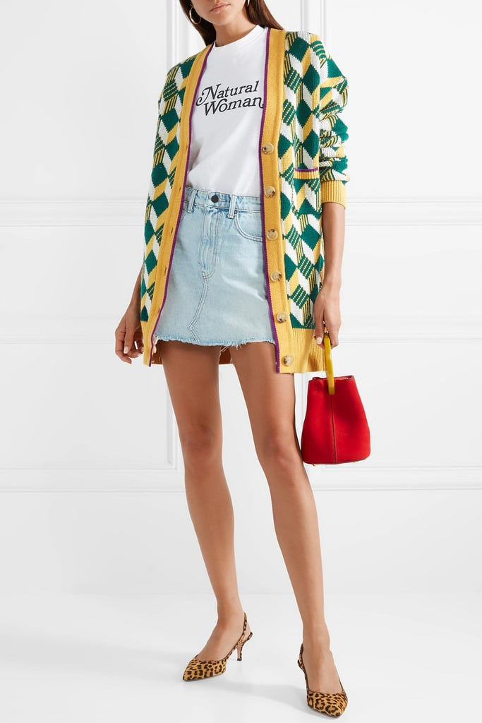 Alexa Chung Oversize Wool Cardigan