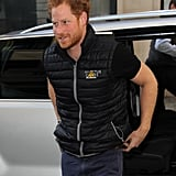 Prince Harry in London April 2016
