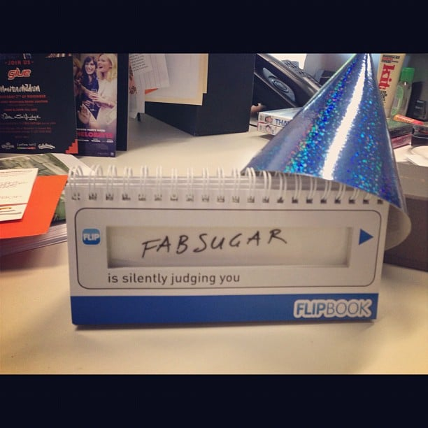 Best birthday prez ever! PopSugar might be trying to tell Fabsugar something...
