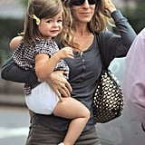 Sarah Jessica Parker with her daughter Tabitha.
