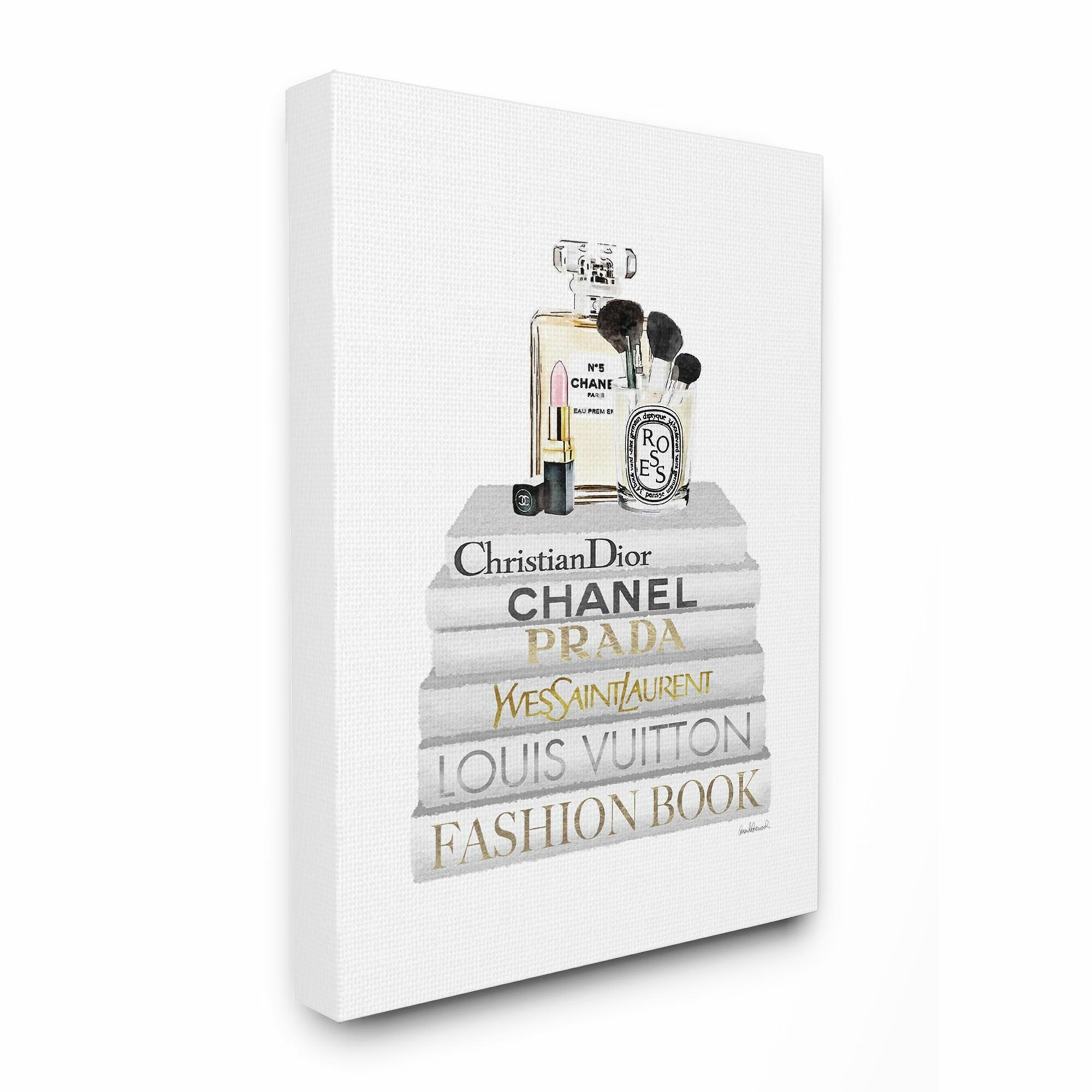 Fashion Designer Makeup Bookstack Textual Art Turn Your Home Into A Spring Oasis With Wayfair S 20 Best Decor Pieces Popsugar Home Photo 21