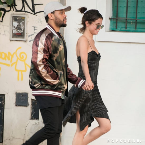 Selena Gomez and The Weeknd in Argentina March 2017