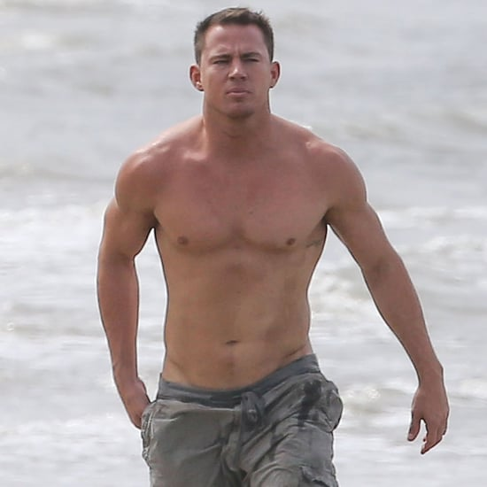 Channing Tatum and Jenna Dewan Beach Pictures 2014