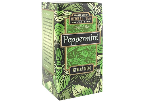 Peppermint Herbal Tea ($2)