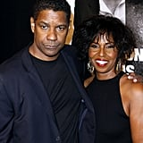 Pauletta Washington and Denzel Washington attended the NYC premiere of Safe House.