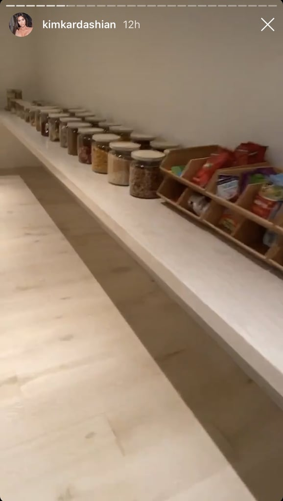 The First Look at Kim's Walk-In Pantry