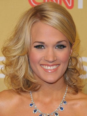 Carrie Underwood at the 2009 American Music Awards