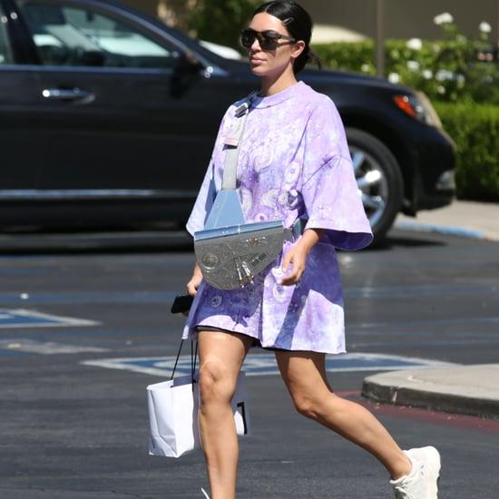 Kim Kardashian's Metal Dior Bag 2019