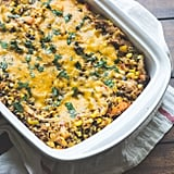 Hatch Chile, Corn, and Quinoa Casserole