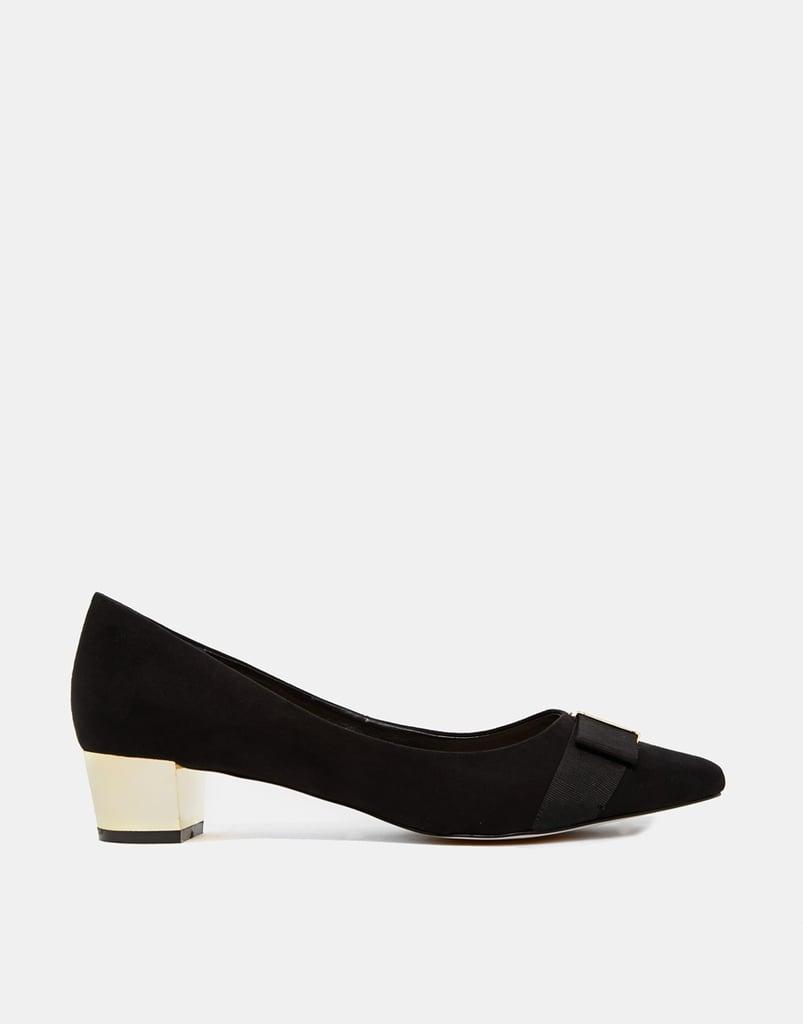 Carvela Kite Block Heeled Shoes — Black