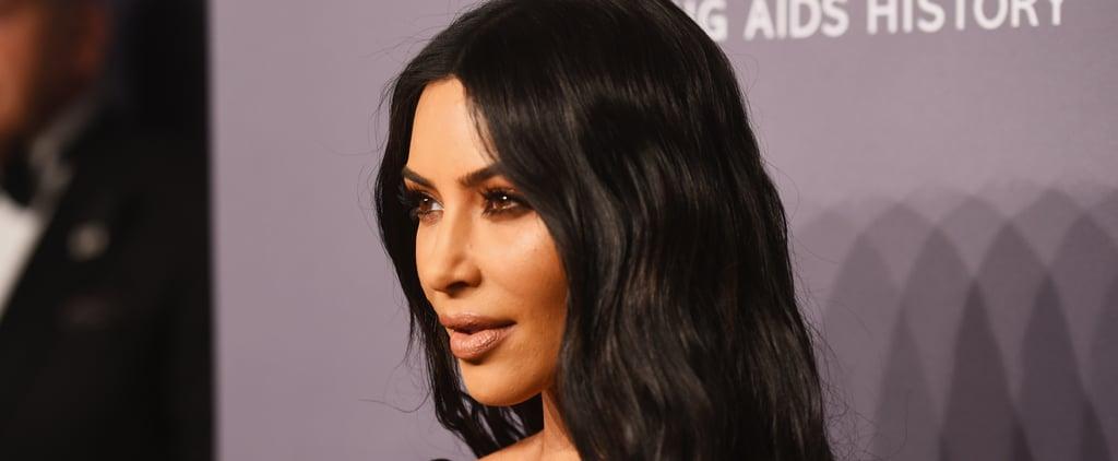 Kim Kardashian Wants a CBD Baby Shower