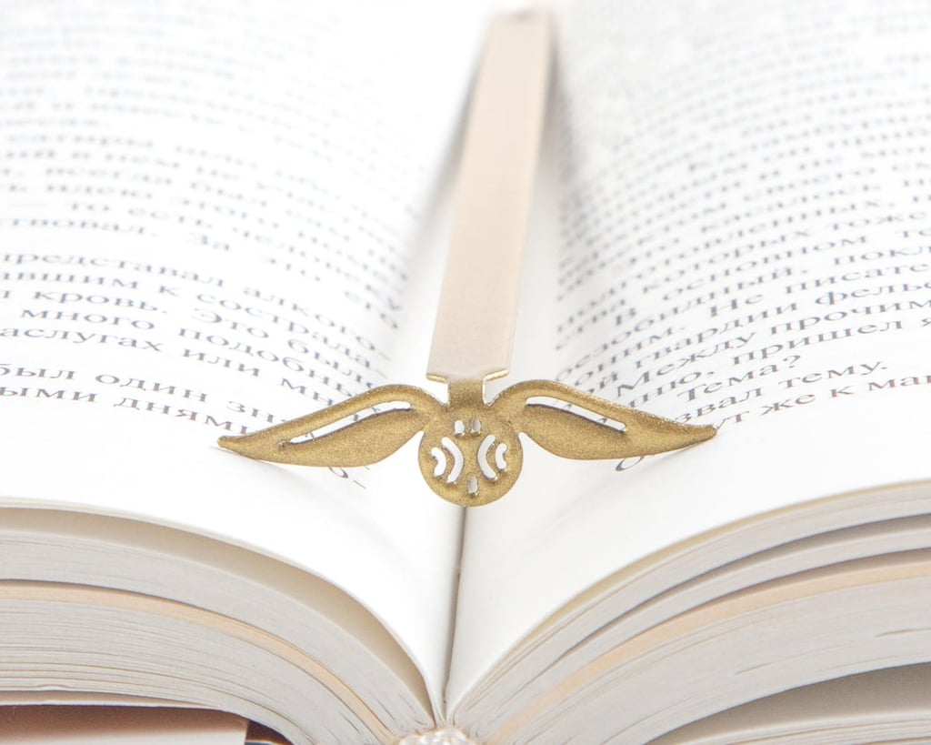 Golden Snitch Bookmark ($20)