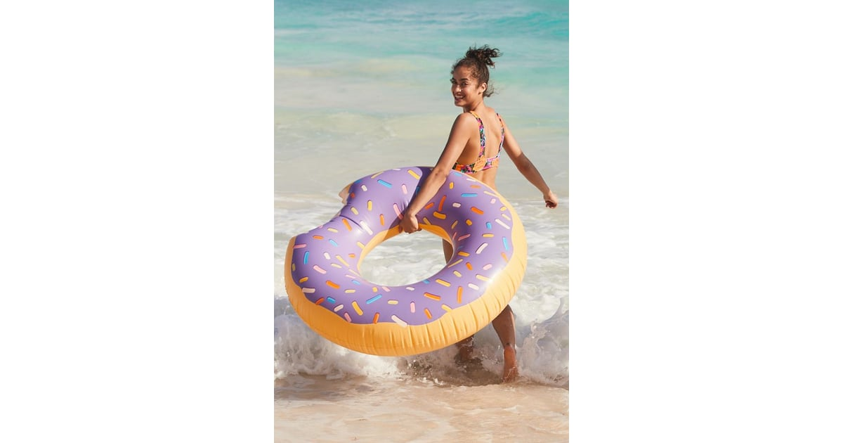 Lilac Donut Inner Tube Pool Float Gifts For Donut Lovers