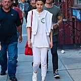 She Styled Her Look With a Pair of White Louis Vuitton Sneakers
