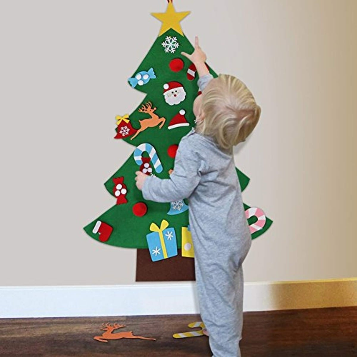 Felt Christmas Trees For Kids That Are Easy To Make Popsugar Family