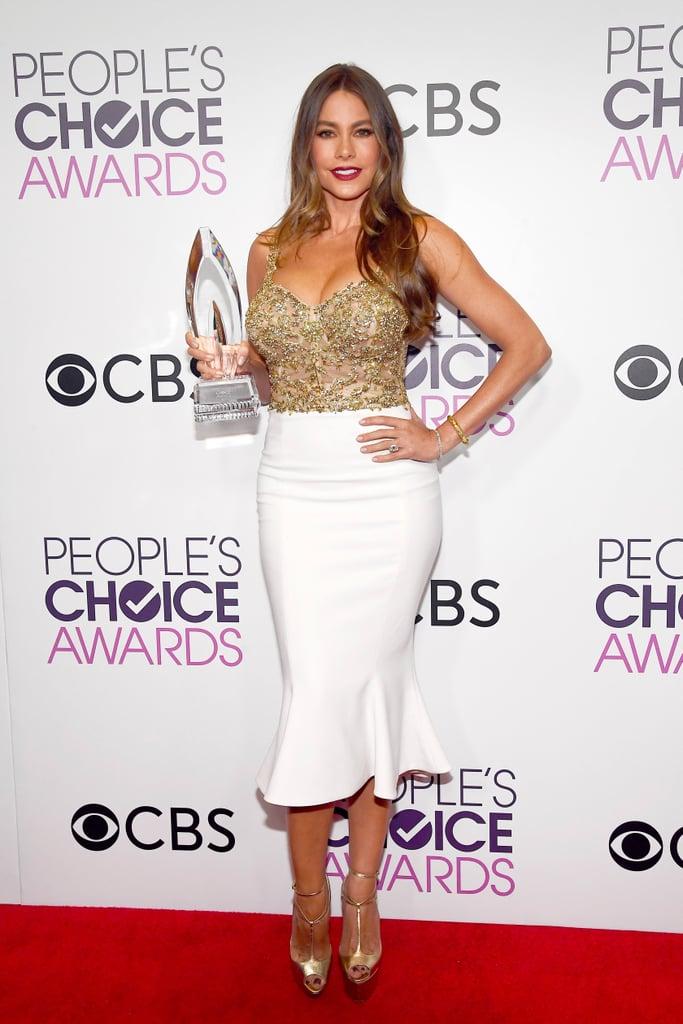 Resultado de imagem para people's choice awards sofia vergara look