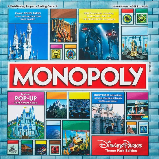 Shop This Disney Theme Park Monopoly Game Board