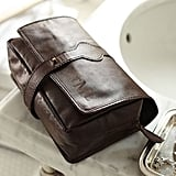 Saddle Leather Hanging Toiletry Case