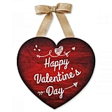 Wooden Valentine's Day Heart Hanging Decoration