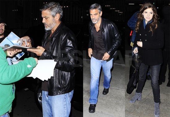 Photos of George Clooney And Anna Kendrick