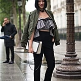 Frilled and Ruffled With Skinny Trousers