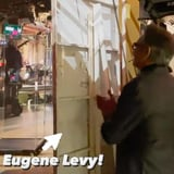 <div>Someone Caught a Glimpse of Eugene Levy Watching Dan Backstage at SNL, and It's Precious</div>