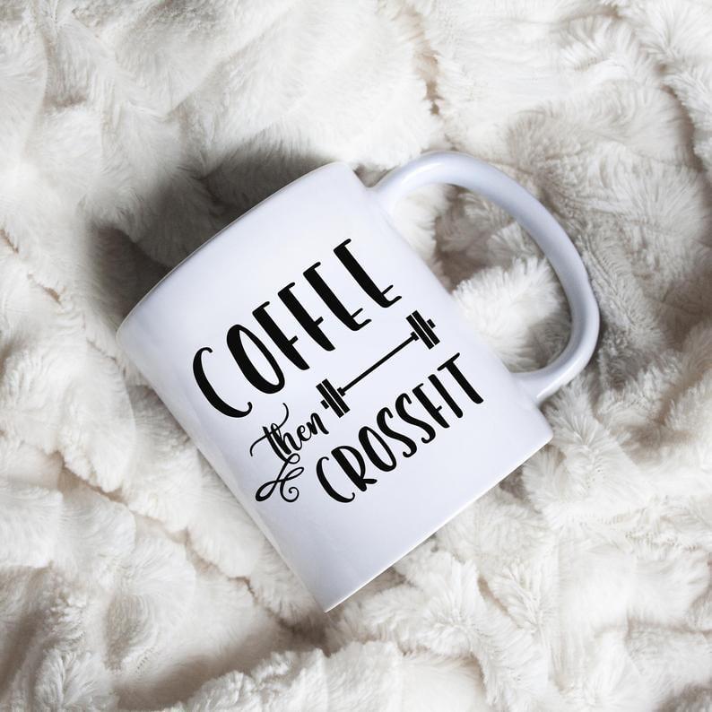 Coffee Than CrossFit Mug