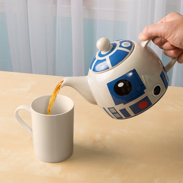 R2D2 Teapot, star wars kitchen, star wars kitchen items