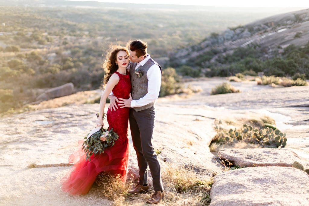 f130632ba5 Red Amazon Dress For Engagement Photo Shoot