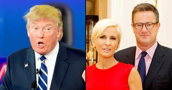 Donald Trump Suggests Morning Joe's Joe Scarborough, Mika Brzezinski Are Secretly Dating in New Twitter Rant
