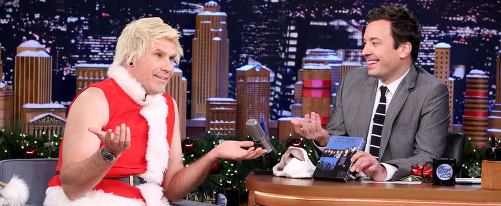 Will Ferrell Dresses as Badass Santa Claus