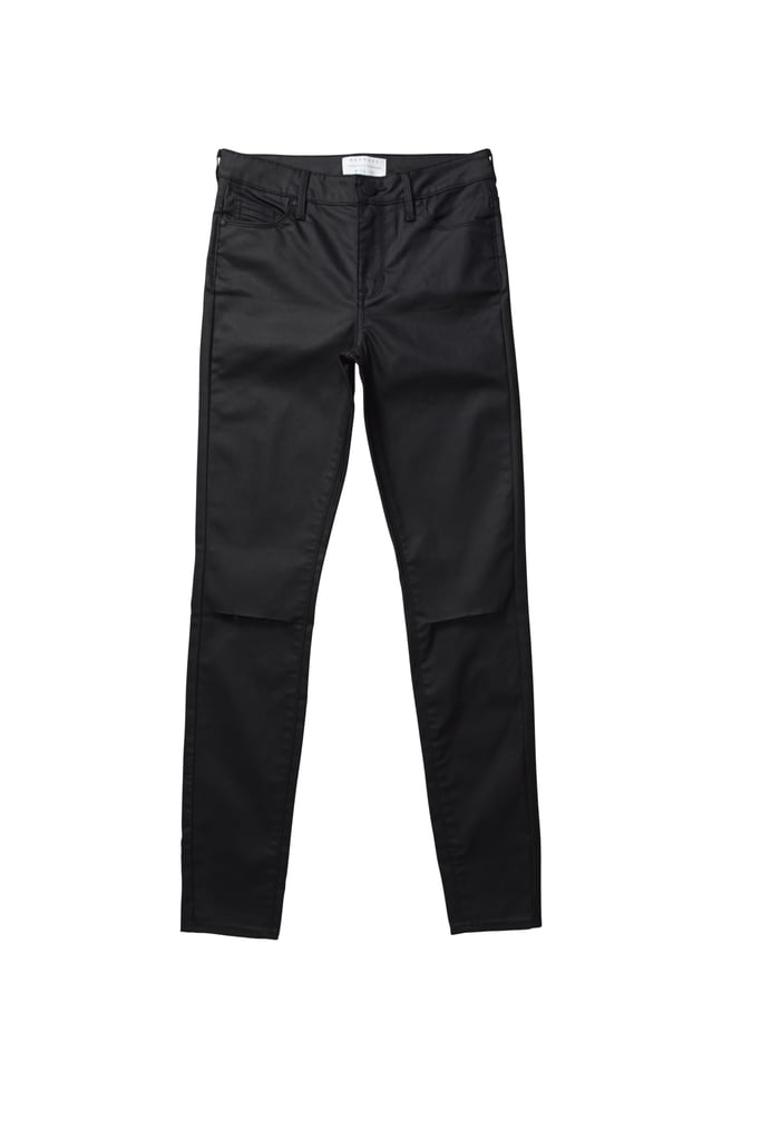 Kendall and Kylie x PacSun High Rise Slit Knee Wax Skinnies