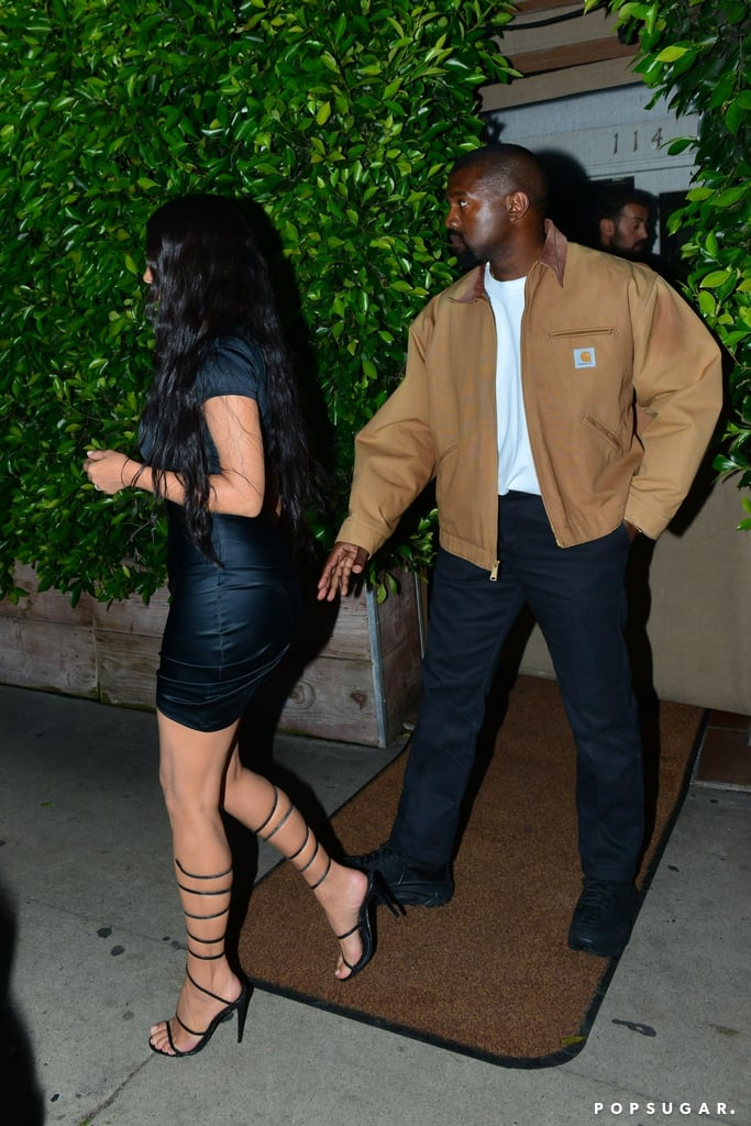 Kim Kardashian and Kanye West Out in Santa Monica May 2019