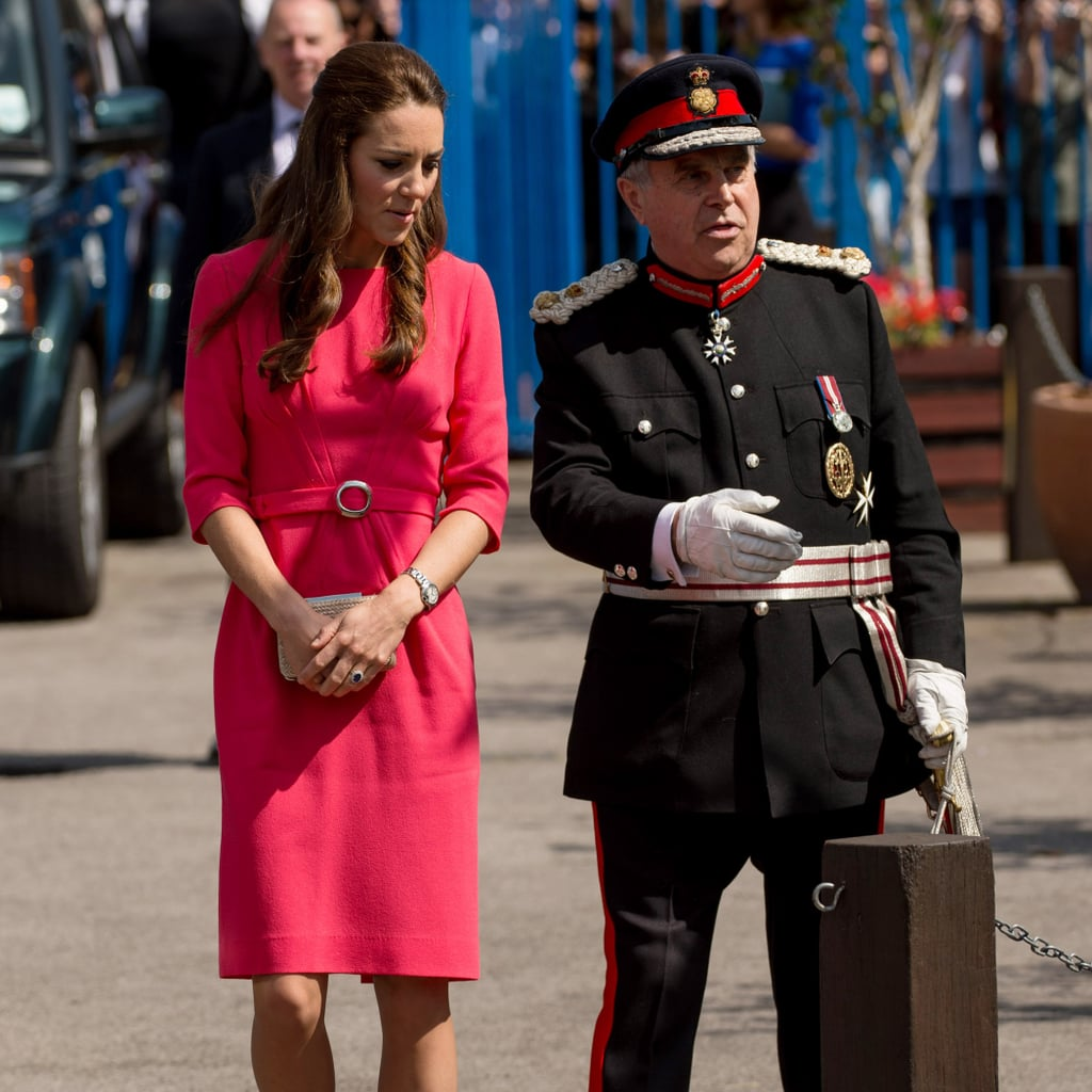 Kate Middleton's Red Goat Dress Sold Out Instantly