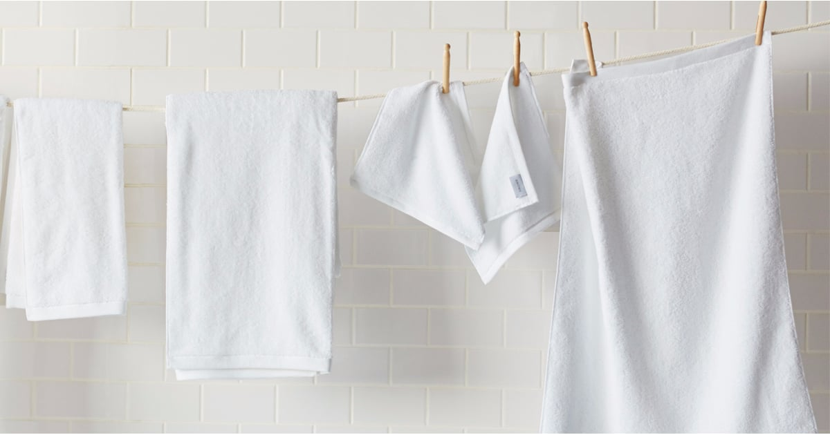 How To Keep Your White Towels Clean Popsugar Home