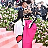 Janelle Monáe at the 2019 Met Gala
