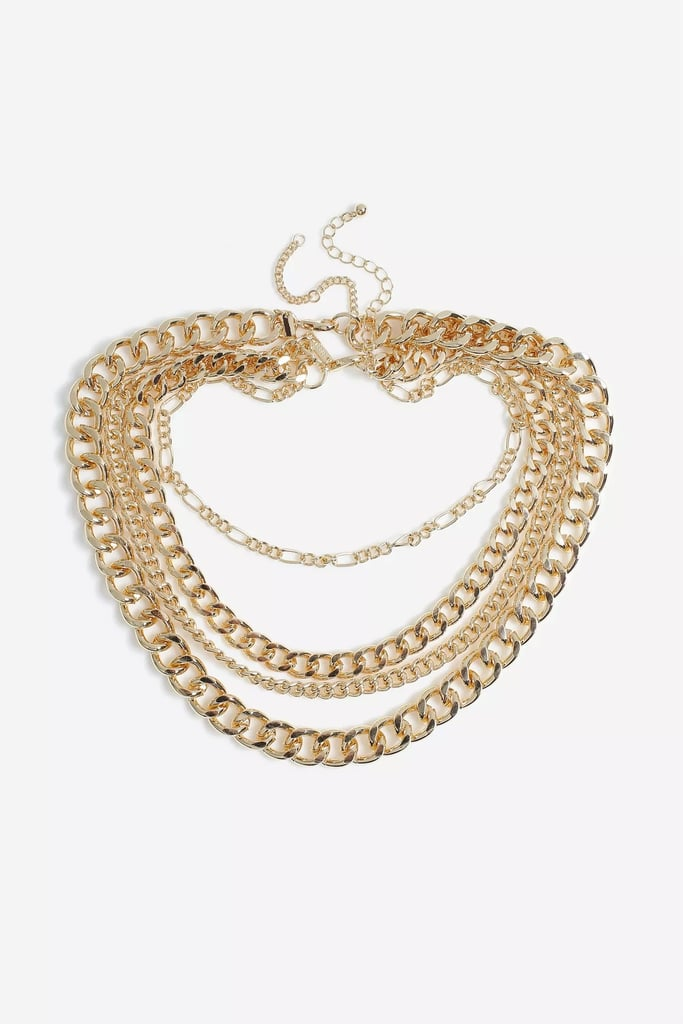Our Pick: Topshop Mega Layered Chain Necklace