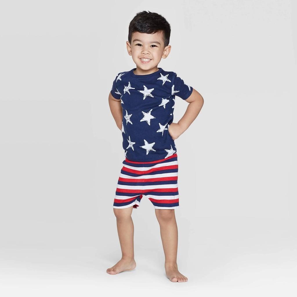 Toddler Stars and Stripes Family Pajama Set