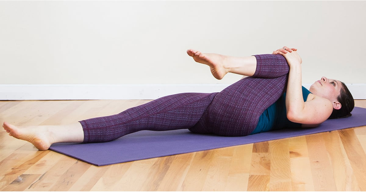 A Yoga Sequence to Ease Discomfort When You're Overstuffed