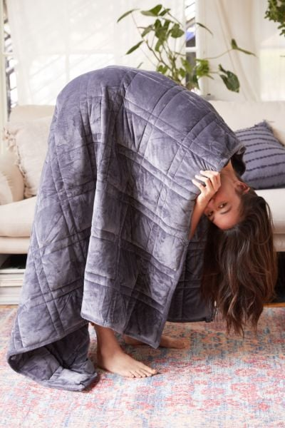 Plush 15 lb Weighted Blanket