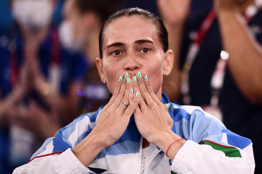 Photos: Oksana Chusovitina's Emotional Last Olympic Vault