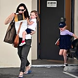 Jennifer Garner Hangs With Her Girls Leading Up to a Mother's Day Weekend