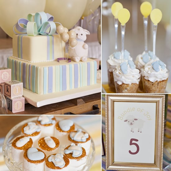 Lamb Baby Shower Ideas