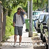 Chris Hemsworth was out in Santa Monica.