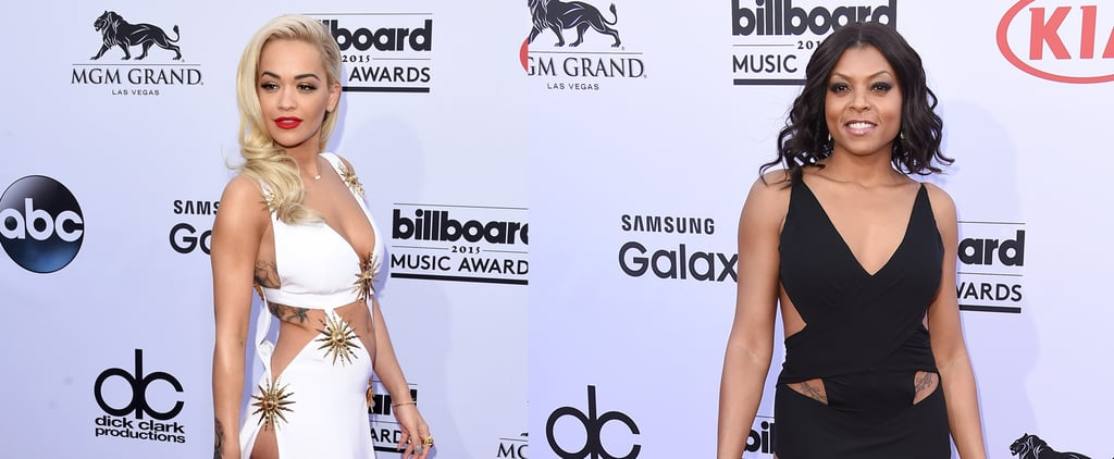 Stars Flaunt Their Body Ink With Sexy Cutout Gowns