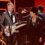 Sting and Bruno Mars