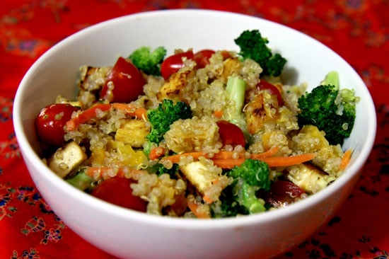 Quinoa, Tofu, and Veggies